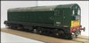 HELJAN 2010 - 8164 Reworked Class 20 BR Green - Weathered O Gauge